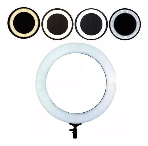 Iluminador Ring Light 18 Polegadas 80w 48cm+tripe 448 Leds