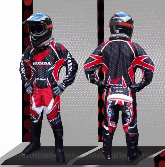 Conjunto Moto Cross Buzo + Pantalon