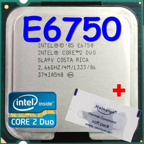 Imagem 1 de 10 de Processador Intel Core 2 Duo E6750 2.66ghz Fsb 1333 4m Cache