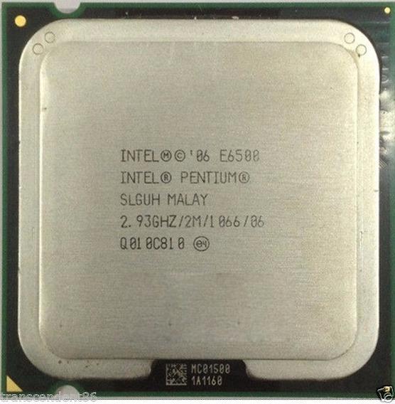 Processador 775 Dual Core E6500 Oem + Pasta Termica