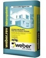 Weber Fino X 25 Kg. Hidrorrepelente (exterior)