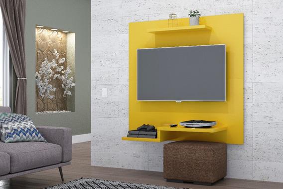 Painel Sala Jet Amarelo Para Tv Até 32 Polegadas