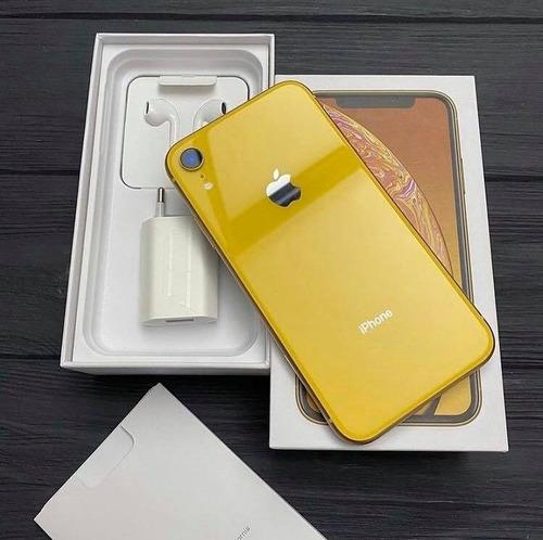 Apple iPhone XR Amarillo, 64 Gb, Desbloqueado De Fábrica