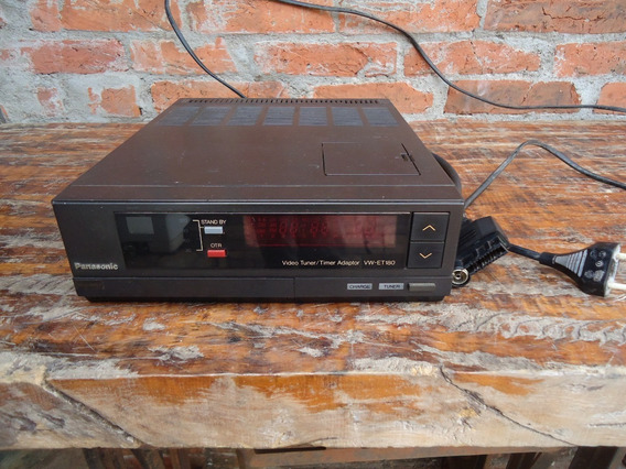 Video Tuner Timer Adaptor Panasonic Vw Et180eo 220 Volts