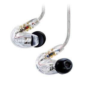 Fone De Ouvido In-ear Shure Se215 Cl Transparente **