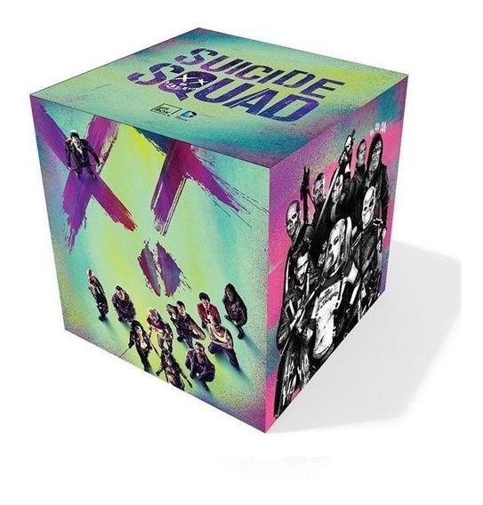 Kit Gift Box Esquadrão Suicida P Novo Lacrado