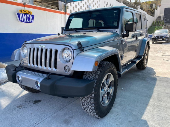 Jeep Wrangler Sahara Unlimited 2017