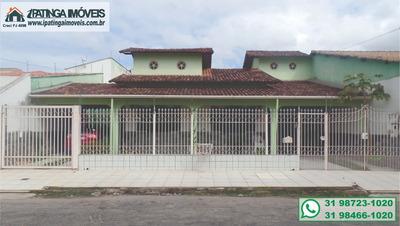 Casa Para Venda, 3 Dormitórios, Cidade Nobre - Ipatinga - 226