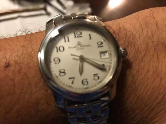 Reloj Baume & Mercier Geneve Capeland Cuarzo Hecho En Suiza