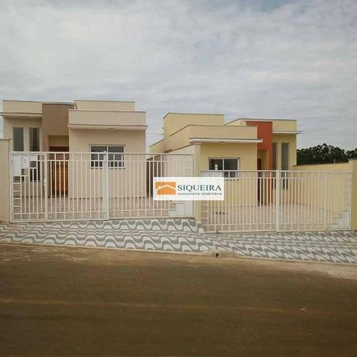 Casa Com 2 Dormitórios À Venda, 58 M² Por R$ 230.000 - Jardim Das Palmeiras - Boituva/sp - Ca1393