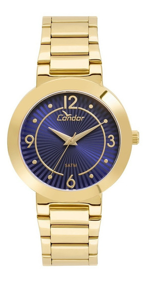Relogio Condor Feminino Dourado - Co2035kvq/k4a + Colar