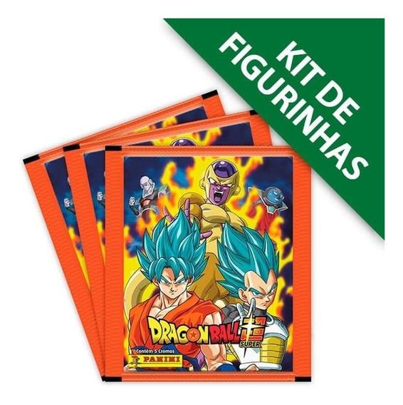 Kit De Figurinhas Dragon Ball Super - Contém 50 Cromos
