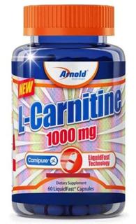 L - Carnitina 1000mg - 60 Cápsulas - Arnold Nutrition