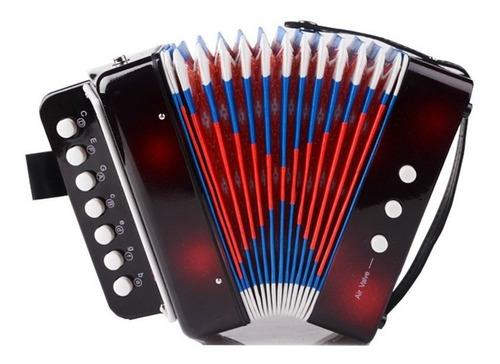 Instrumentos De Teclado De Acordeón De Los Niños De Elloa