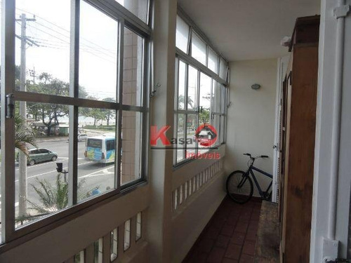 Imagem 1 de 8 de Apartamento Com 3 Dormitórios À Venda, 115 M² Por R$ 565.000,00 - Embaré - Santos/sp - Ap9382
