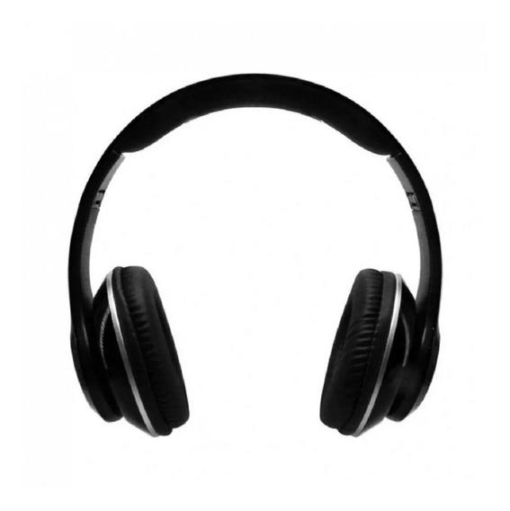 Audifonos Diadema Bluetooth Fm/sd Necnon Nbh-01 Negro