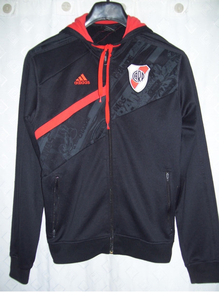 River Plate Hermosa Campera adidas Con Capucha 2008 Talle S