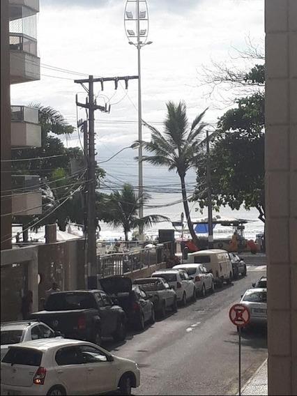 Apartamento Para Venda, Centro Balneário Camboriú, Quadra Mar, Vista Mar, Amplo Com 130m² De Área Útil, Permuta Em Balneário - Ap0774