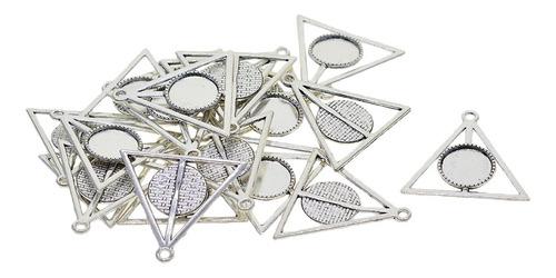 Imagen 1 de 12 de 20 Unidades Base De Bisel Redonda De Triángulo De