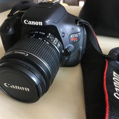 Câmera Canon Eos Rebel T3i