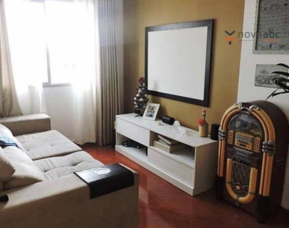Apartamento À Venda, 63 M² Por R$ 215.000,00 - Jardim Utinga - Santo André/sp - Ap0101