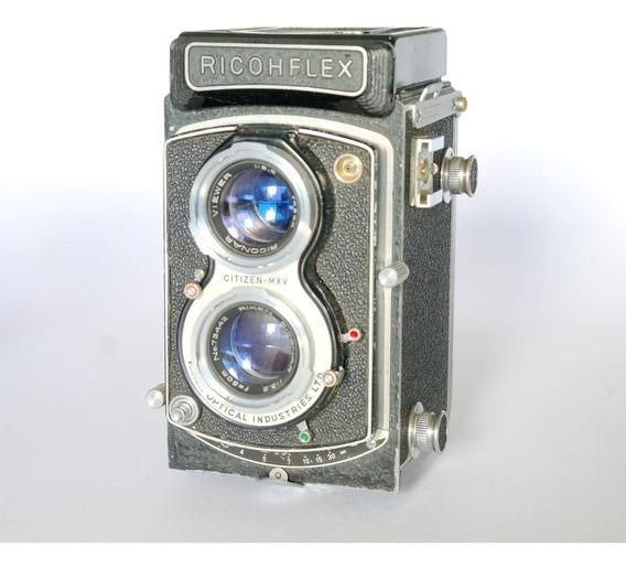 Camera Tlr Ricohflex 6x6 - Não Despacho!