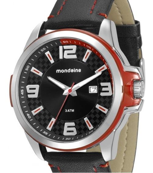 Relógio Mondaine Masculino Couro - 76636g0mvnh2