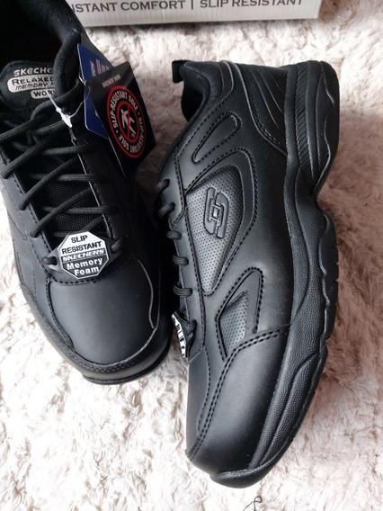 zapatos skechers work oxford \u003e Limite