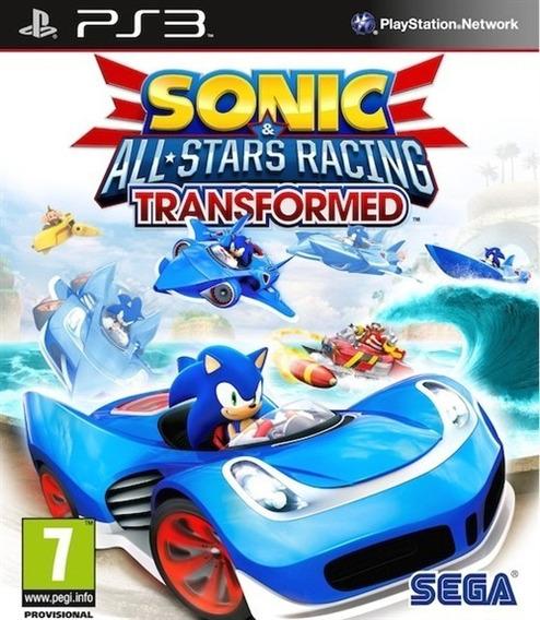 Sonic & All-stars Racing Transformed - Ps3 - Instale Já