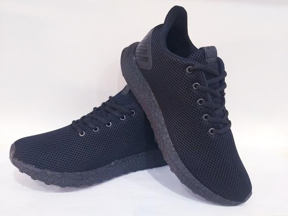 Zapatillas Deportivas Negro Suela Negra New Style Jos3 35/44