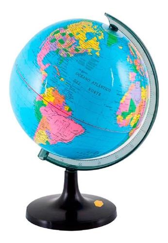 Globo Terráqueo 30cm Diámetro Político Mundo