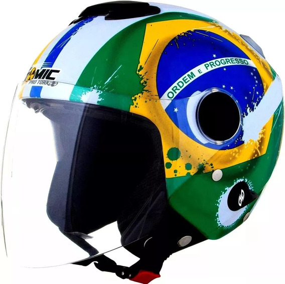 Black Friday Capacete Pro Trok New Atomic Brasil
