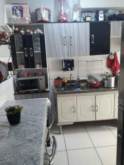 Apartamento Com 2 Dormitórios À Venda, 42 M² Por R$ 130.000,00 - Jardim Alzira Franco - Santo André/sp - Ap8081