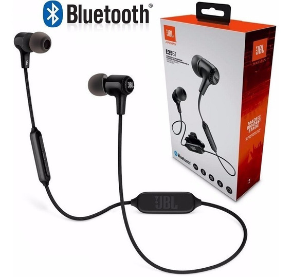 Fone De Ouvido Jbl E25bt Preto Bluetooth Original