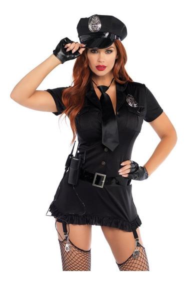 Disfraz De Mujer Policía Sucia