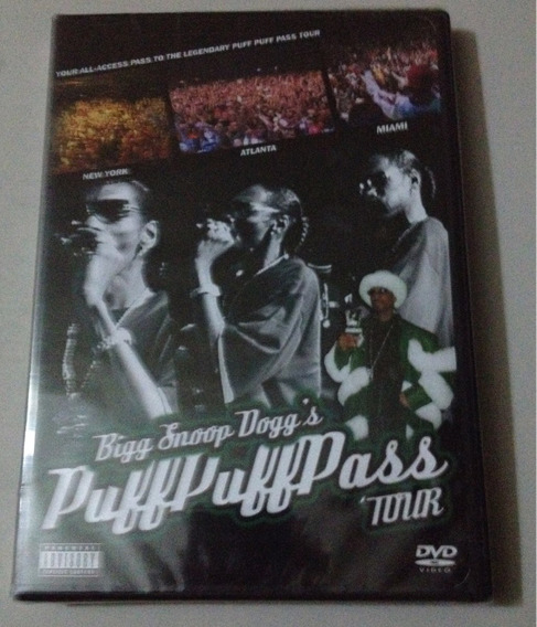 Snoop Dogg Puff Puff Pass Tour Dvd Nuevo Importado Usa