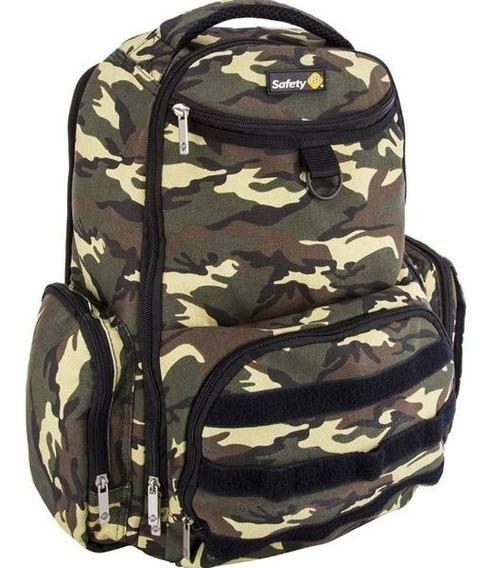 Mochila Back Pack Militar Green Army Safety 1st