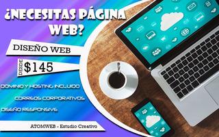 Diseño Paginas Web + Dominio + Hosting Por Un Año