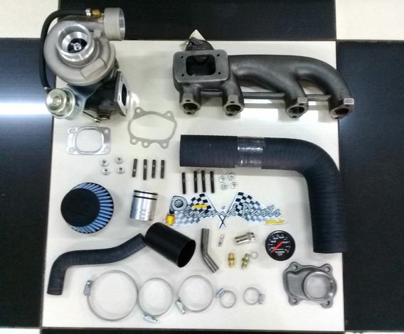 Kit Turbo Saveiro Diesel Md Com Coletor Deslocado + Brindes