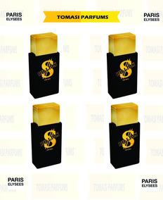 Kit Com 4 Perfumes Billion For Men Paris Elysees 100ml