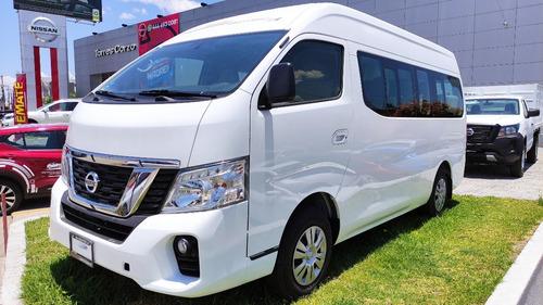 Imagen 1 de 15 de Nissan Urvan 15 Pasajeros Amplia A/a Paq Seg T/m'22