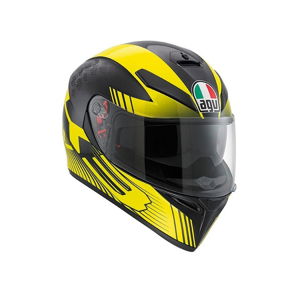 Casco Integral Agv K3 Sv E2205 Glimpse Amarillo Bamp Group