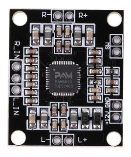 Modulo Amplificador Audio 10+10w Pam8610