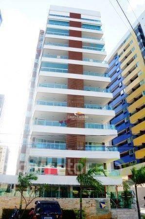 Apartamento Com 3 Dormitórios À Venda, 150 M² Por R$ 854.053 - Tambaú - João Pessoa/pb - Ap2497
