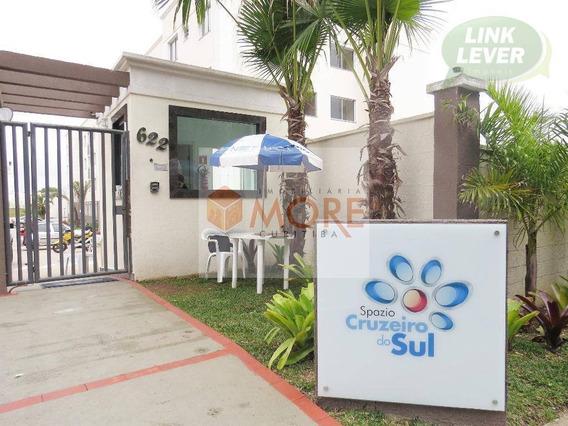 Apartamento Com 2 Dormitórios Para Alugar, 48 M² Por R$ 750,00/mês - Boneca Do Iguaçu - São José Dos Pinhais/pr - Ap0504