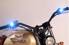 Led Moto Motocicleta Farol Luz Harley Davidson Suzuki Honda