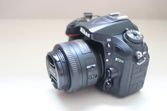 Câmeras Nikon D7200 Flash Sb600 E Rádio Flash.