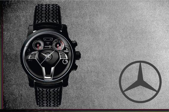 Relógio De Pulso Personalizado Painel Volante Mercedes A250