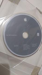 Disco De Instalacion 2 Computadora Mac Os X Version 1.0