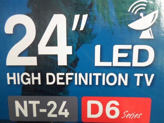 Tv Led 24 Com Conversor Digital Hdmi Usb Função Monitor